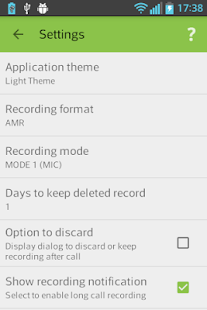 AndroRec Free Call Recorder APK for Bluestacks