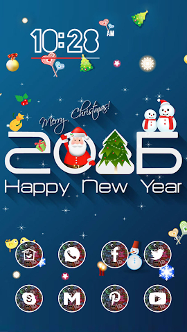 android Dress Up Christmas Screenshot 0