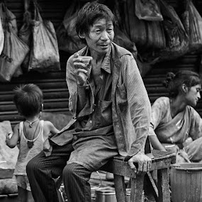 A vagabond  by  Bivahasutra Wedding Photography - People Street & Candids