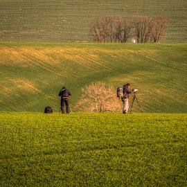 Landscapists by Klaus Müller - People Street & Candids ( camera, photographer, landscape )