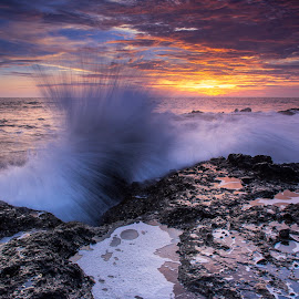Splash one by Arek Embongan - Landscapes Waterscapes