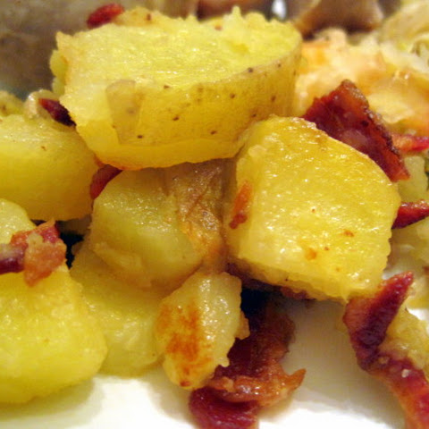 Bratkartoffeln (German Fried Potatoes)
