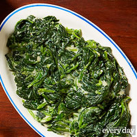 Trim Creamed Spinach