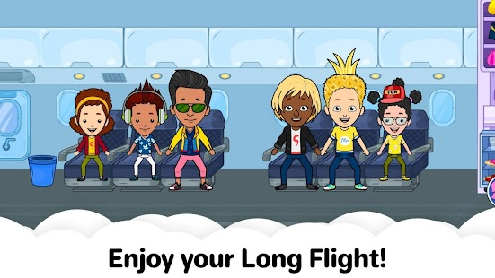 My Airport City: Kids Town Airplane Games for Free
