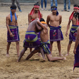 Traditional ancient wrestling by Angshuman Chakrabarti - Sports & Fitness Fitness ( wrestling, sport )