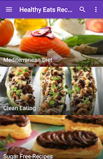 Healthy Eats Recipes - screenshot