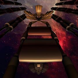 by Sherry R Herndon - Illustration Sci Fi & Fantasy