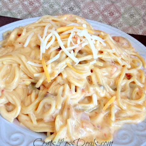 Easy Chicken Spaghetti - on the stove top or CrockPot!