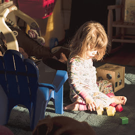 Sun Patch by Michael Last - Babies & Children Children Candids