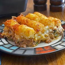 Jacked Up Tater Tot Casserole