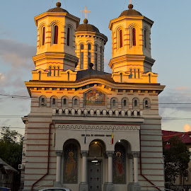 St. Gheorghe-Grivita  Church by Irina Stoica - Buildings & Architecture Statues & Monuments ( church )