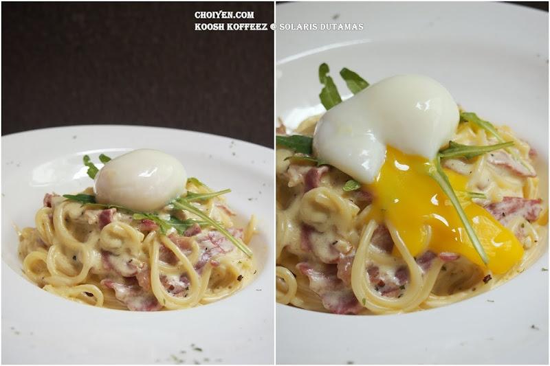 Karbonara At Koosh Koffeez Malaysia Food Restaurant Reviews