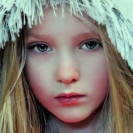 Ice Princess by Cheryl Korotky - Babies & Children Child Portraits