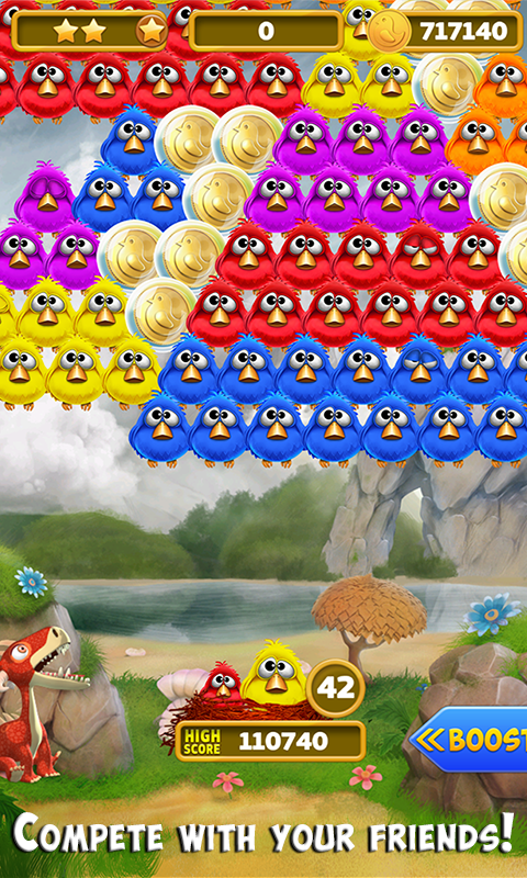 Bubble Shooter Birds Screenshot 2