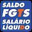 Saldo FGTS Salário Líquido 13º APK for Blackberry