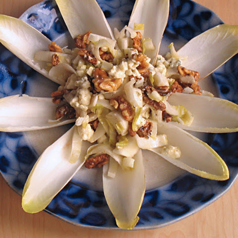 Endive Salad with Blue Cheese and Walnuts