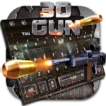 3D Gunnery Bullet Battle Keyboard Theme? Icon