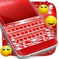 Free Red Chrome Keyboard Theme APK for Windows 8