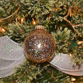 gold shine by Lainie Saurbeck - Artistic Objects Other Objects ( holiday, christmas, christmas tree, gold, ornaments )