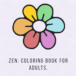 Zen: Coloring for adults Full