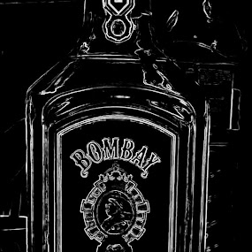 In black  by Deep Ocean - Artistic Objects Other Objects ( wine, gin, whisky, liqure,  )