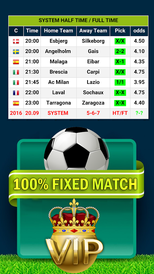 %100 FİXED MATCH Screenshot 0