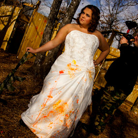 Paintball Trash The Dress by Danniel McKnight - Wedding Reception