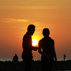 My Love Like a Sun by Arman Buyung - People Street & Candids