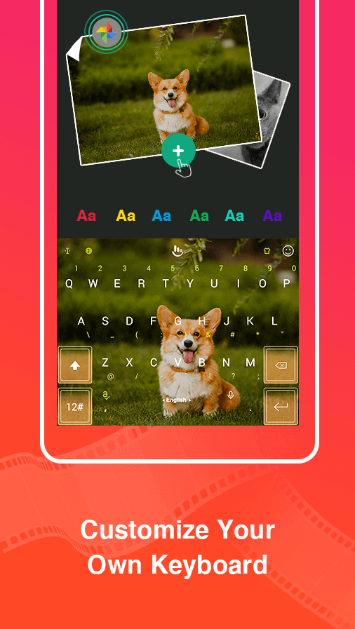 ABC Keyboard - TouchPal Emoji, Theme, Sticker, Gif Screenshot 1