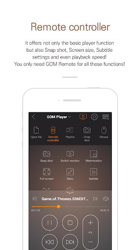 GOM Remote - Remote Controller screenshot 5