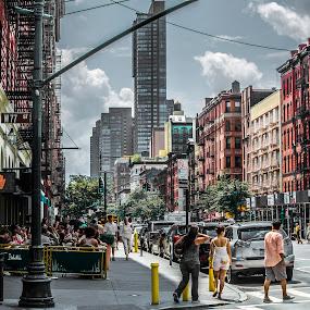 Hitch by Sabastian L - City,  Street & Park  Street Scenes ( city life, manhattan )