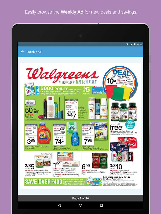 Walgreens Screenshot 10