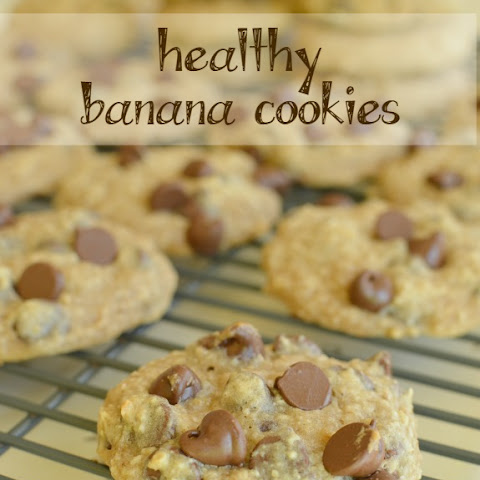 Banana Cookies (Healthy)