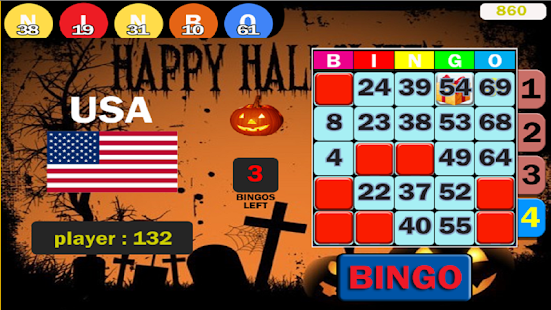 Dots Bingo - HalloWeen - screenshot