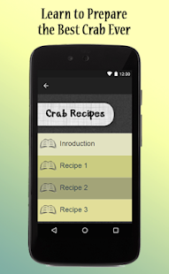Crab Recipes Guide - screenshot