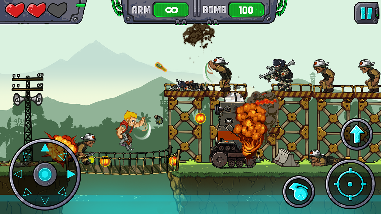 Metal Shooter: Super Soldiers Screenshot 5
