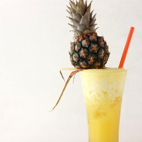 Spiked Pineapple Ginger Drinkby Season with Spice