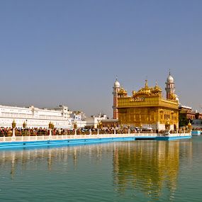 Heaven on earth by Mishesh Ramesh - Buildings & Architecture Places of Worship ( prayer, god, india, amritsar, worship )