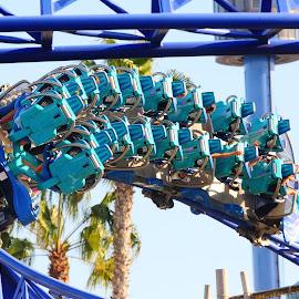 Manta by Gérard CHATENET - City,  Street & Park  Amusement Parks