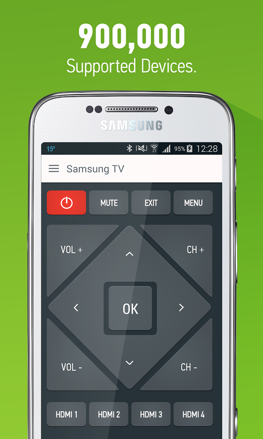 AnyMote Universal Remote +WiFi Screenshot 2