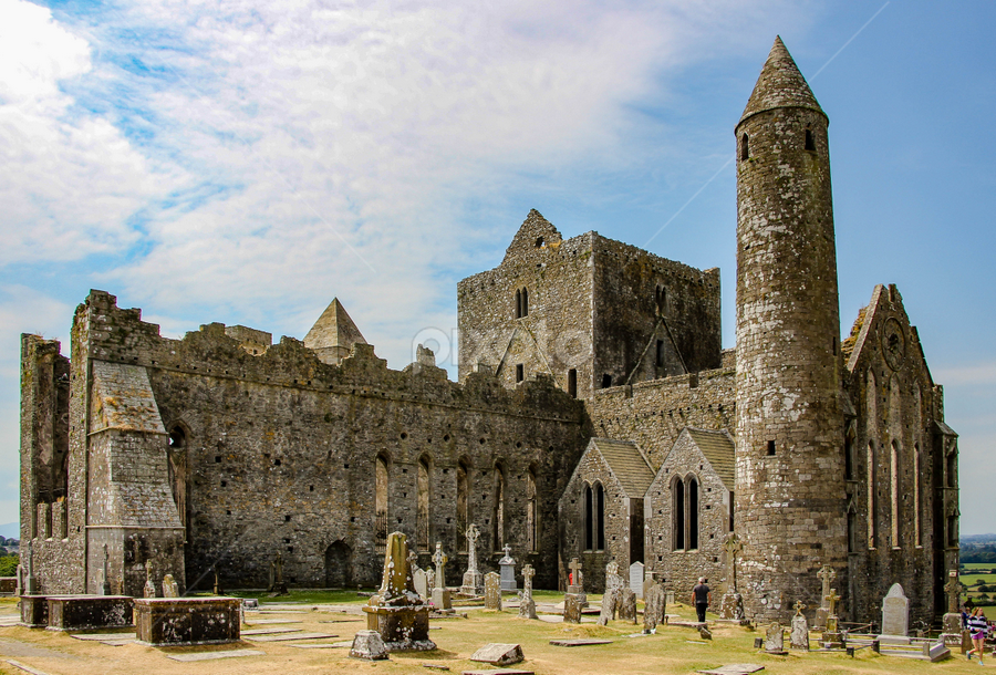 Rock of Cashel by Michael Lunn - Buildings & Architecture Public & Historical