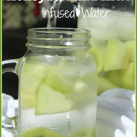 Honeydew and Kiwi Infused Water