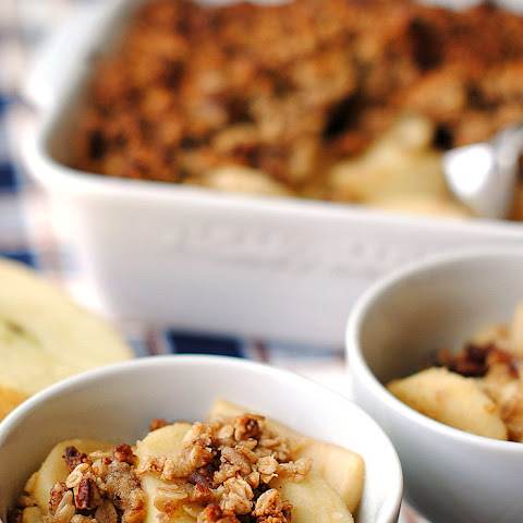 Apple Cider Oatmeal Crisp