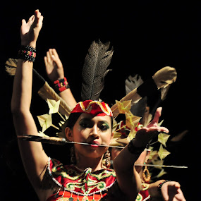 Tari Mandau (Sworts Dance) by Dwi Cipta - People Musicians & Entertainers ( art, people, dance, culture, dayak )