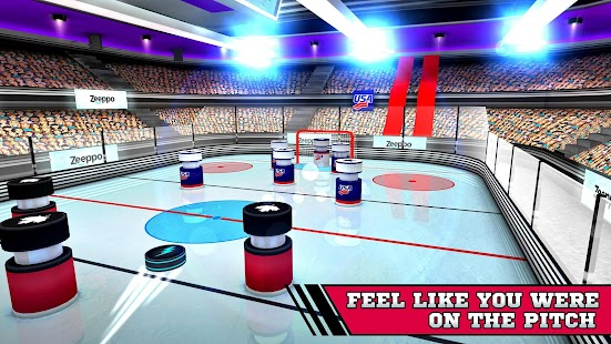 Pin Hockey - Ice Arena- screenshot thumbnail
