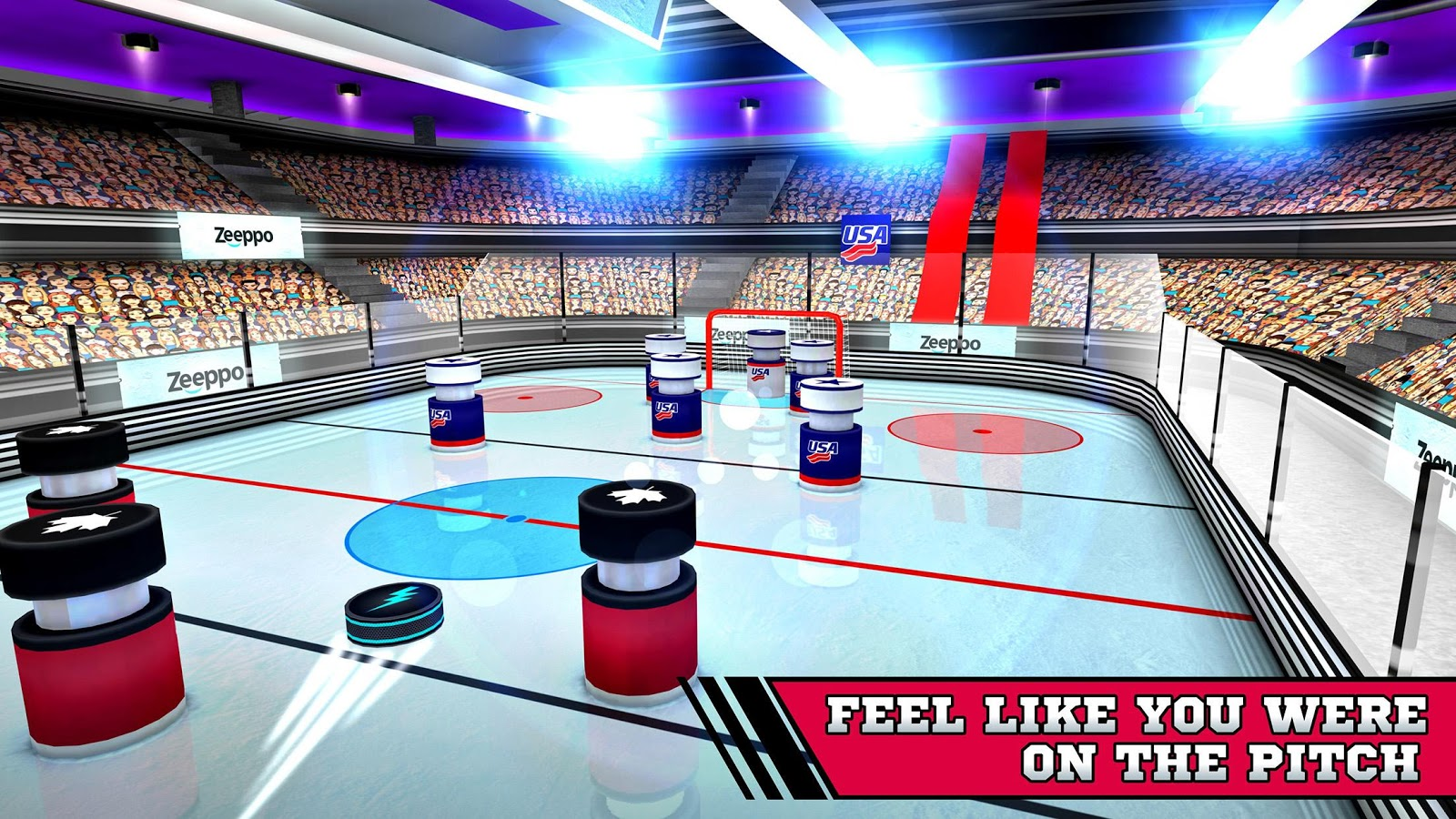 Pin Hockey - Ice Arena Screenshot 2