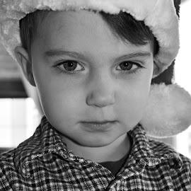 Grumpy Santa by Shannon Maltbie-Davis - Public Holidays Christmas