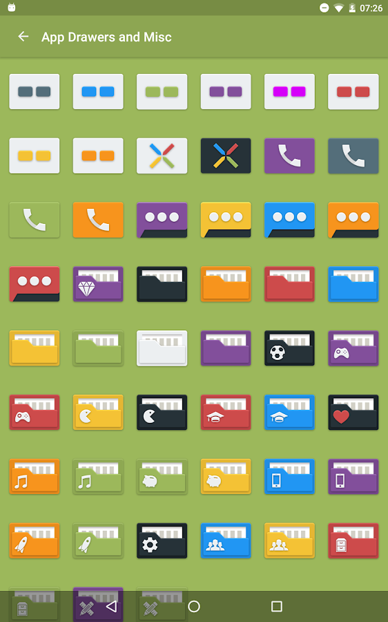 Tendere - Icon Pack Screenshot 11