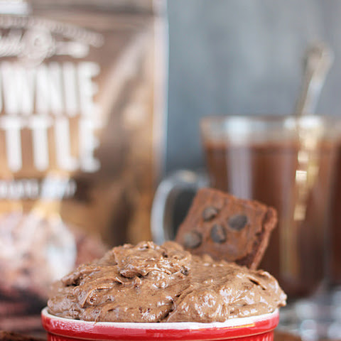 Brownie Brittle Hot Chocolate Dip