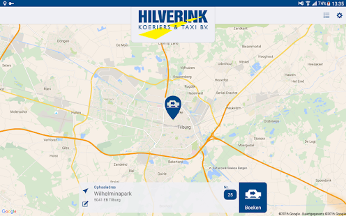 Hilverink Taxi - screenshot